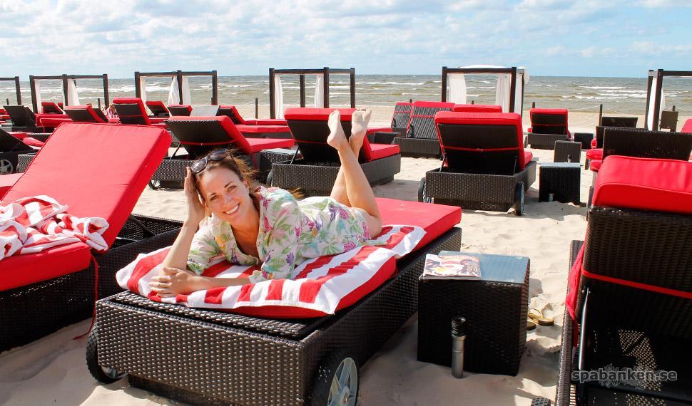 Heidi Rovén, Jurmala Baltic Beach Hotel