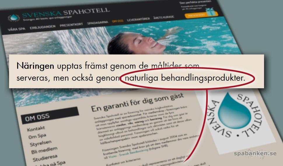 svenska spahotell föreningen