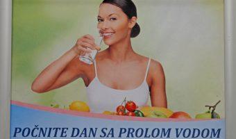 Det hälsosamma vattnet i Prolom