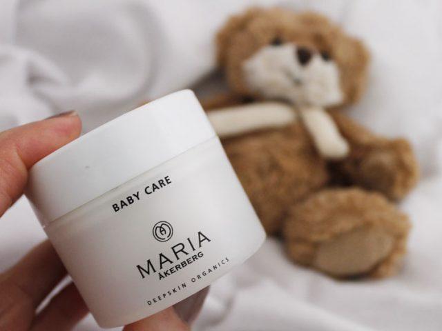 Produkttest: Baby care från Maria Åkerberg